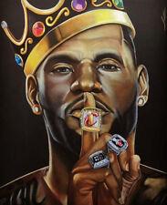 Lebron James Super basketball Star Art Silk Poster Wall Decor 30x24''