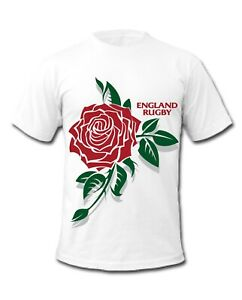 England Rugby English Rose Front & BackT-Shirt