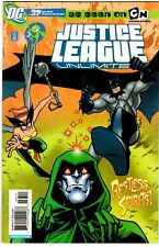 JUSTICE LEAGUE UNLIMITED # 37 VF/NM 2007 SPECTRE DEADMAN HAWKGIRL LOW PRINT