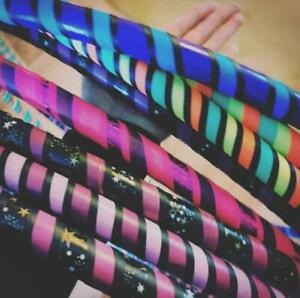 Hand Made - Adult Proffessional Collapsible Hula Hoops - Various designs by GTB.