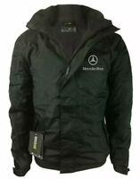 Mercedes Benz Regatta Zipper Dover Jacket Embroidered Waterproof Coat Unisex