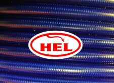 TRANS BLUE FZS600 Fazer 1998-2003 HEL REAR BRAIDED BRAKE LINE