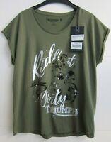 ORIGINAL Triumph Ladies Damen Shirt army grün * loose fit * NEU! Gr. L