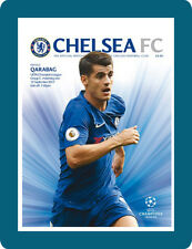 MACHDAY Programme of CHELSEA – QARABAG / TUE 12 Sep 2017, Stamford Bridge