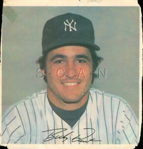 Original 1978 New York Yankees Large Baseball Player Lithograph- Bucky Dent