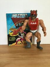 1982 He-man Masters Of The Universe Zodac Action Figure Complete Comic