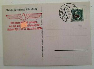 Genuine WW2 German Postcard - NSKK Camp