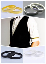 2 x Mens Shirt SLEEVE HOLDER Arm Bands Men Sleeves Hold Ups Elasticated Armbands