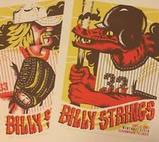 BILLY STRINGS POSTERS WINTRUST FIELD SCHAUMBURG IL JUNE 11-12 AP