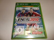Xbox 360 pes 2010-Pro Evolution Soccer Classics (1)