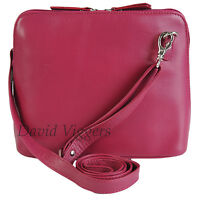 Primehide Small Soft Leather Crossbody Shoulder Wedding Bag Various Colours 838