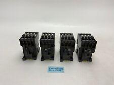 (LOT OF 4) ABB B16-30-10 Contactor 600V Coil 110/120V 50/60HZ *WARRANTY*