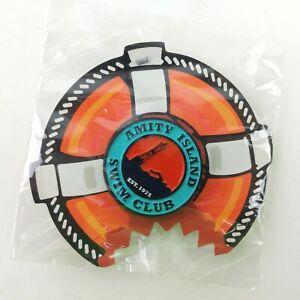 New Amity Island Swim Club Jaws Pin Movie Horror Block Pin P4