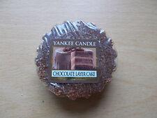 Yankee Candle USA exclusive rare chocolat Couche Gâteau Tarte en cire