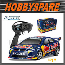 TRAXXAS LATRAX 1/18 RED BULL v8 HOLDEN RC CAR #1 JAMIE WHINCUP w CHRG & BATT RTR