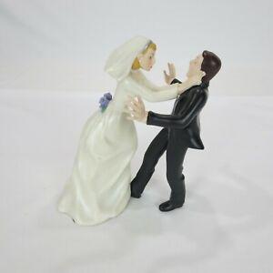 "Wedding Cake Topper Strangle 7"" Tall"