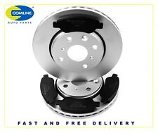 Genuine Comline Toyota Aygo 2005 to 2014 Front Coated Brake discs and Brake Pads