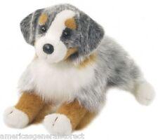 "SINCLAIR Douglas 13"" plush AUSTRALIAN SHEPHERD DOG stuffed animal cuddle toy"