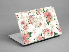 "17""  Laptop Notebook Sticker Cover Decal Flower Sony Dell HP Acer Lenovo"