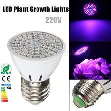Full Spectrum E27 60 LED Plant Grow Light Bulb Garden Flowering Hydroponics Lamp