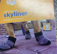 Ruffwear Skyliner Bark'n Boots Everyday Paw Protection Dog Boots Small Gray