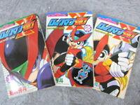 ROCKMAN ZERO Megaman Manga Comic Complete Set 1-3 HIDETO KAJIMA Book SG