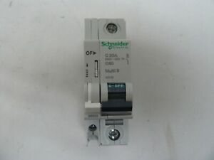 Schneider Electric 60113 circuit breaker 20 amp 1 pole C20A  C60 multi 9 240v60v