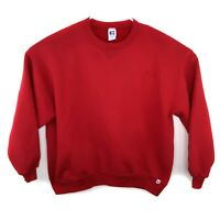 Vintage Russell Athletic Red Sweatshirt Men's Size XXL Crew Neck 90s Made in USA