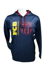 FC Barcelona Men's Hoodie Sweatshirt with Front Pocket