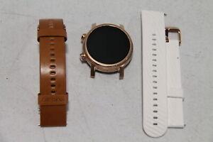 Motorola Moto 360 3rd Gen 2020 Stainless Steel Smartwatch 43mm- M360FS19 - Gold