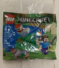 LEGO 30393 Minecraft Steve & Creeper Poly Bag - Final Stock
