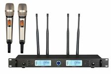 UHF True Diversity Outdoor Dual Wireless Vocal Microphone System System U8500