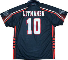 maglia Litmanen Ajax Umbro Away UEFA champions League 1996-97 shirt jersey