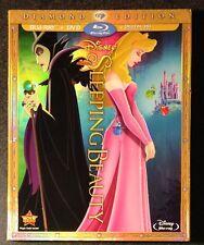 Disney SLEEPING BEAUTY Blu-Ray DVD Digital Copy Diamond w SlipCover New OOP Rare