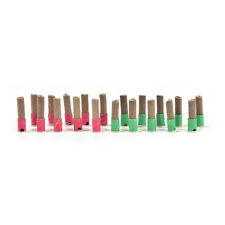 Mini Smokeless Moxa Stick Mini Stick-on Moxa Moxibustion Massage 180pcs EF