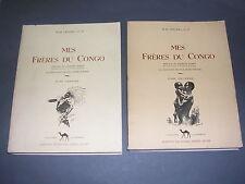 Afrique Congo Lelong M.H Mes frères du Congo illustré de dessins 1946
