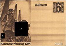 Duitse Rijk P251 Officiële Postcard gebruikt 1934 1. Kan