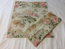 "RARE RALPH LAUREN ""Woodstock"" Garden Floral Collection 2 STD Pillowcases"