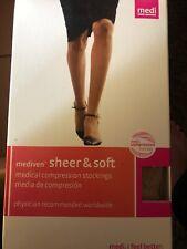 Mediven Medical Compression Stockings, 20-30, Sz 6, Maternity Panty, Natural