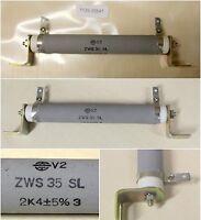 ROSENTHAL RIG-Widerstand 2,4 Kiloohm ZWS 35 S -