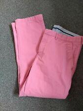 """Tommy Hilfiger Salmon Pink Denim Jeans.  Waist 38""""  Leg 30"""". Zip Fly. VGC"""