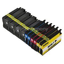 10 für HP 950 & 951 XL Officejet 8100 Premium 8600 810 8620 Patronen mit CHIP