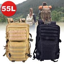 Rucksack Multifunktions Backpack Military Laptopfach 55L Outdoor Trekking Unisex