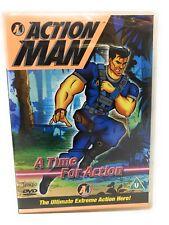 Acción Man a Time For DVD Dibujos para los Niños 2005 Animación Hero Nuevo