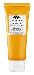 Origins DRINK UP 10 Minute Hydrating Face/Facial Mask Apricot/Glacier Water 75ml