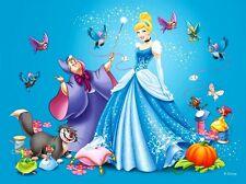 Disney Cinderella and Fairy Godmother B/W Cross Stitch Chart