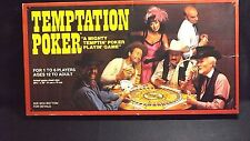 TEMPTATION POKER FAMILY BOARD GAME 1982 WESTERN PUBLISHING INC. NO INSTRUCTIONS
