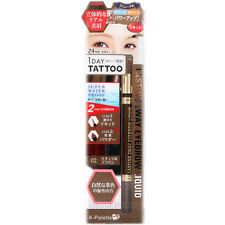 K-palette 1 Day Tattoo Lasting 2way Eyebrow Liquid 02 Natural Brown Powder WP AU