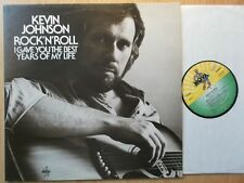 KEVIN JOHNSON LP: ROCK 'N' ROLL (D; NOVA 6.22140 AS)