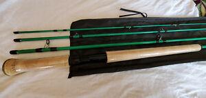 11ft 3/4wt 4 Sections Fly Rod (Aqua Green)